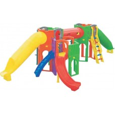 Play Ground Calypso c/ 2 escorregadores tubo
