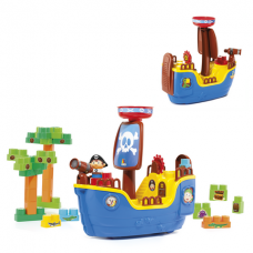 Baby Land Navio Pirata c/ 30 blocos